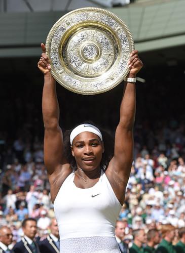 SerenaWilliams wins her 6th Wimbledon