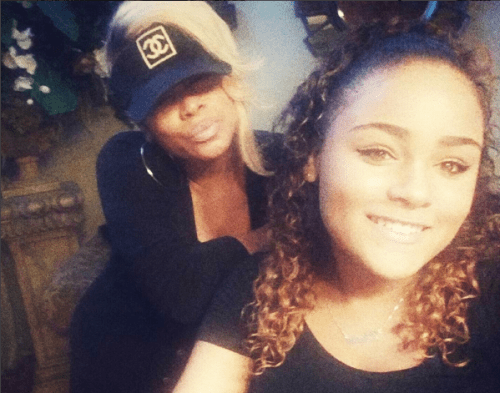 T Boz and daughter