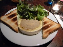 Baked Camembert at Comptoir des Archives