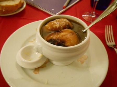 soupe a l'oignon