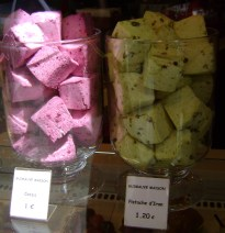 Marshmallows at Pain de Sucre