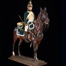 Dragoon on horseback