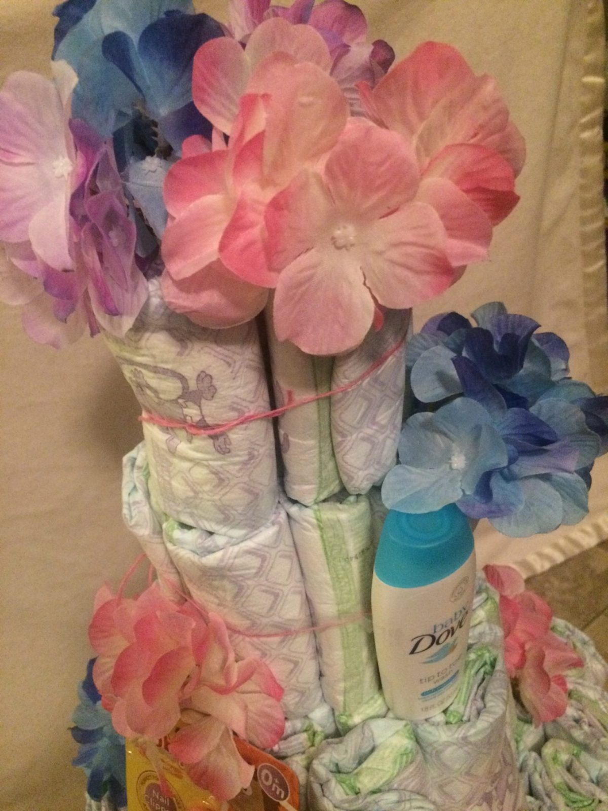 Diaper Cakes Are An Awesome Gift To Bring To Any