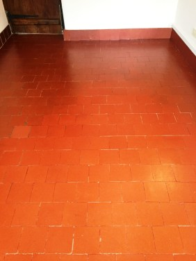Quarry Tiled Floor Banbury After Cleaning