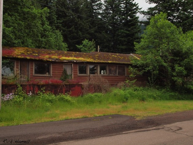 Dodson, Oregon - Ghost Town in Columbia Gorge