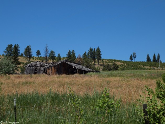 Ghost Town of Winlock, Oregon