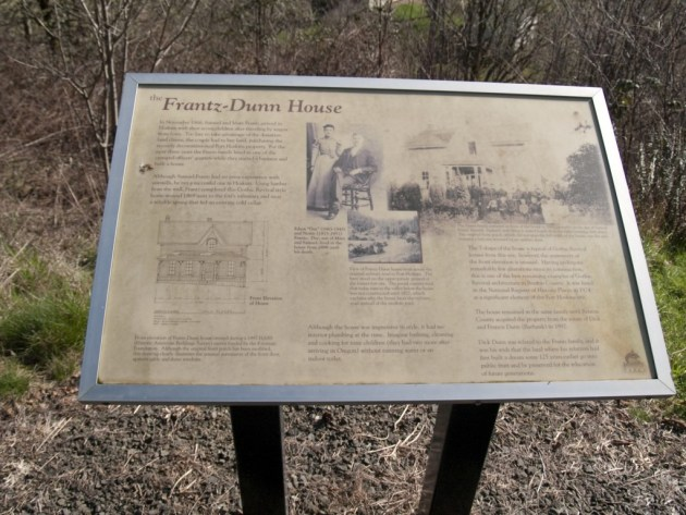 Farnz-Dunn House Sign