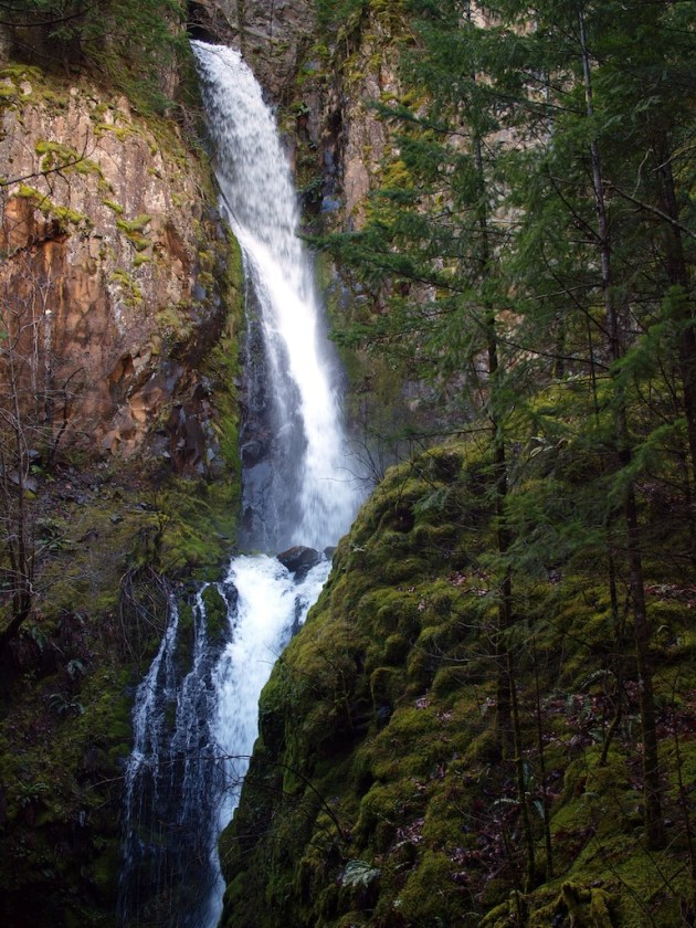 Hole in the Wall Falls - Columbia River Gorge