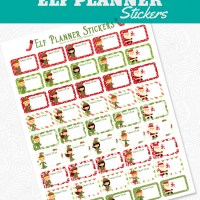 Printable Elf On the Shelf Planner