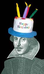 Shakespeare's birthday