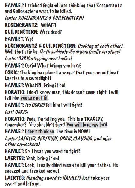 hamlet for kids script sample 3