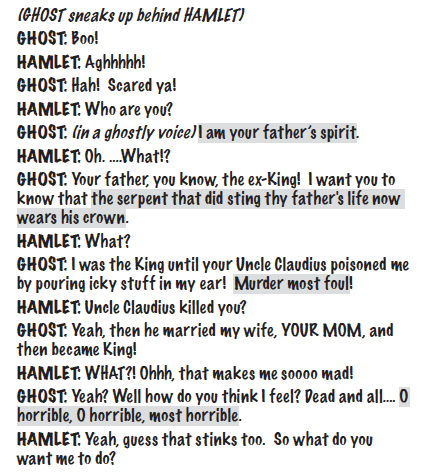 hamlet for kids script sample 2
