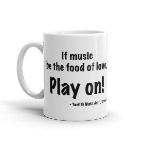 Mug – Play on!