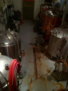 Columbia River Brewing brewery floor