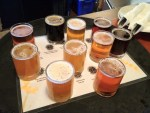 Columbia River Brewing beer sampler