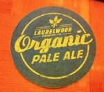Laurelwood Brewing Organic Pale Ale coaster