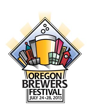 2013 Oregon Brewers Festival Logo