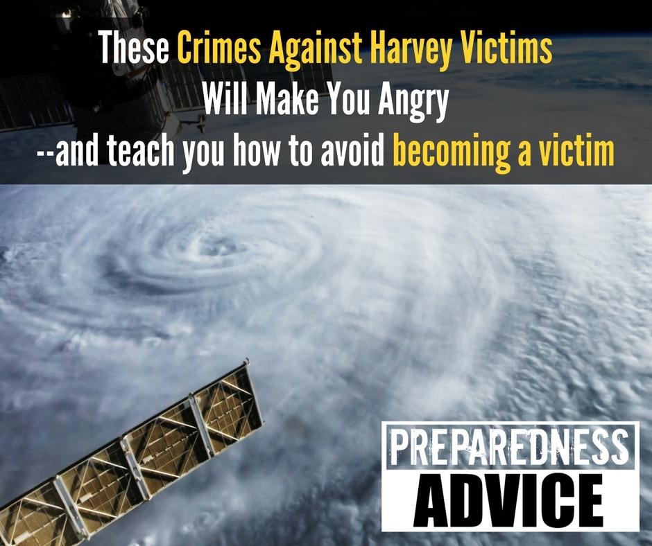 crimes against harvey victims