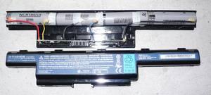 Calibración de la batería de la computadora portátil