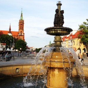 Poland - fountain photo