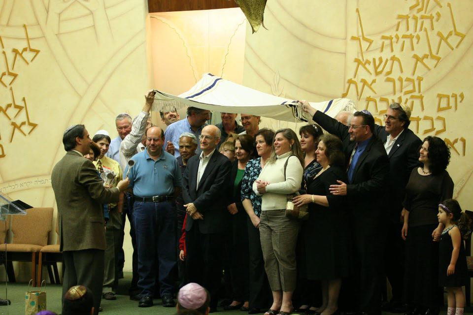 Photo: Congregation Birthday Blessing Fri Night Services