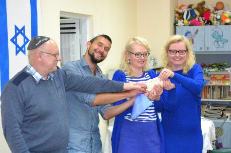 photo: Seder at Beit Trojmiasto (Tri-Cities_ Gdansk, Gydinia, and Sopot)