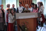 converts have their first aliya to the Torah