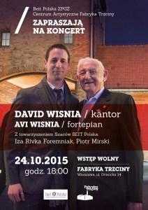 Cantor David S. Wisnia & Avi Wisnia Koncert