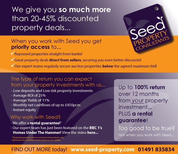 Discount property - Below market value Residential Landlord