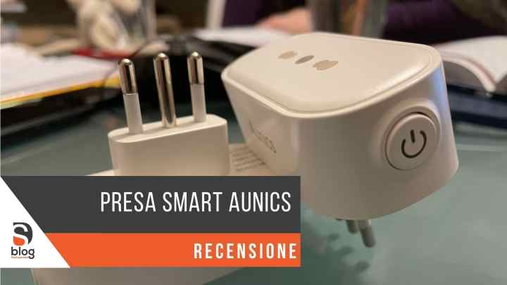 Presa Smart Aunics compatibile Alexa e Google Home