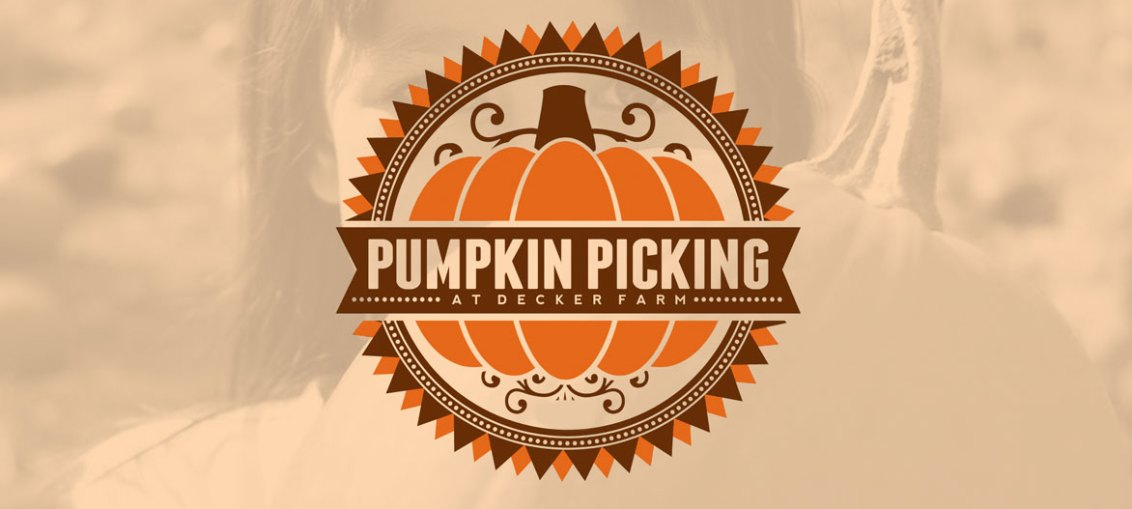 Pumpkin Picking at Decker Farm SATURDAYS & SUNDAYS  IN OCTOBER