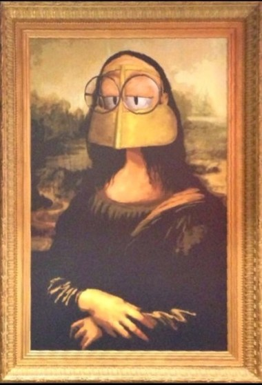 A Freej Version of The Monalisa in Lammtara Studio