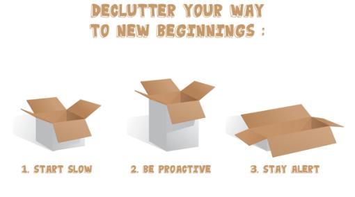 De-Clutter Your Way to New Beginnings