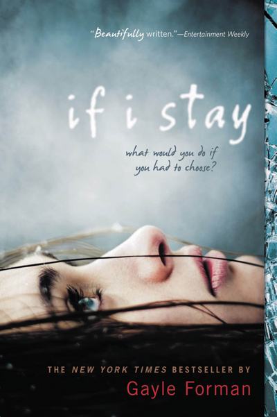 "Book cover of ""If I Stay"", published by Dutton Penguin, published on 2009"