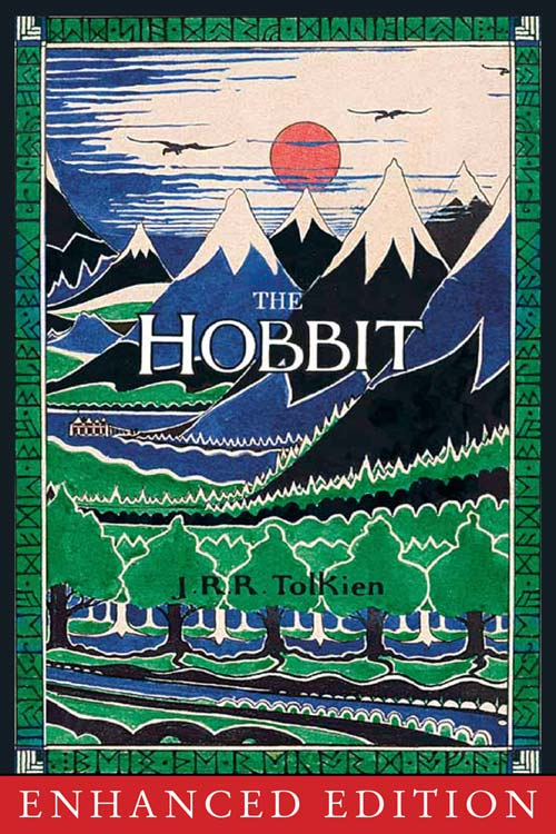 "Book Cover of ""The Hobbit"" Published by HarperCollins, 1991 Issue"