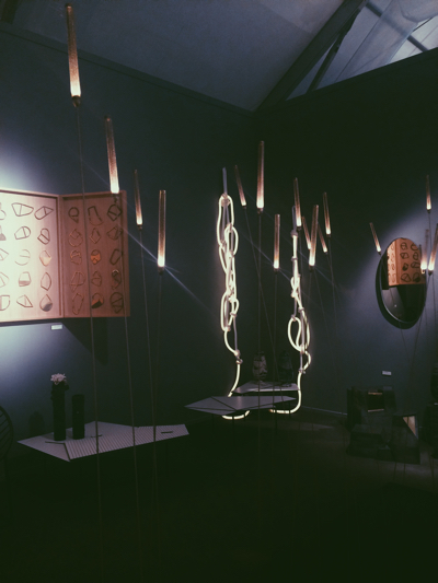 Indo Light Installation by Hideki Yoshimoto Gallery S. Bensimon - Picture taken by Moza AlMatrooshi
