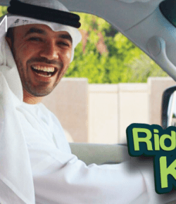 Ride with @CareemUAE and @KhalidAlAmeri (#RideWithKhalid)