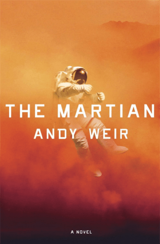 The book cover of The Martian