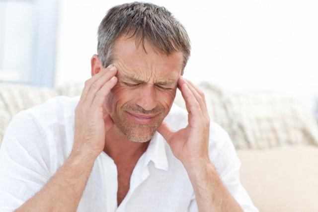 man-headache