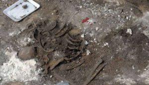 pronaena tela u rudnici