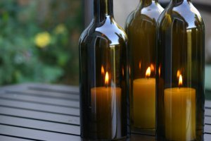 Bottles for Candles