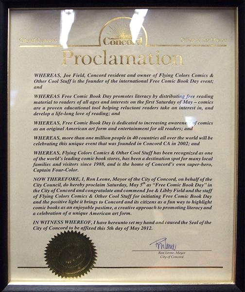 FCBD Mayoral Proclamation