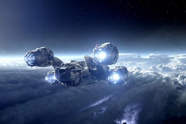 prometheus-spaceship