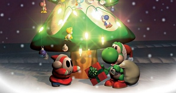 A holiday scene from Nintendo.