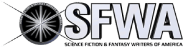 SFWA (Science Fiction and Fantasy Writers of America) logo,