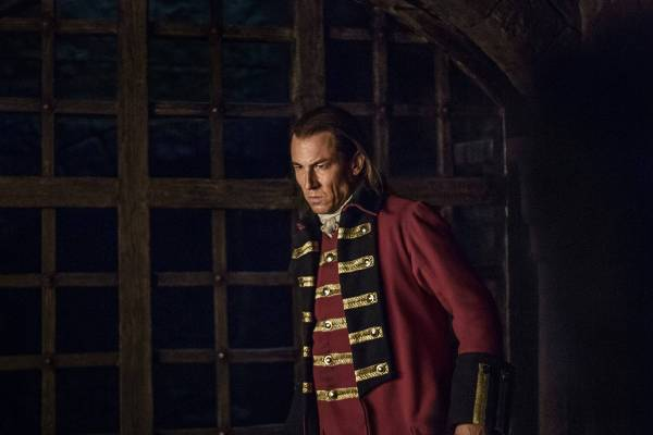 Black Jack Randall played by Tobias Menzies. This man. This man right here is the reason none of us can have nice things.