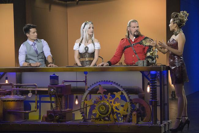Steampunk'd Season 1 Episode 1 Kitchen Challenge