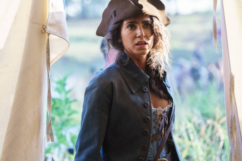 """SLEEPY HOLLOW: Betsy Ross (Nikki Reed) in the """"I, Witness"""" season two premiere episode of SLEEPY HOLLOW airing Monday, Oct. 1 (9:00-10:00 PM ET/PT) on FOX. ©2014 Fox Broadcasting Co. CR: Tina Rowden/FOX"""