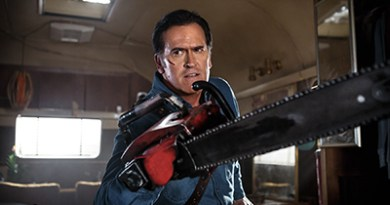 Bruce Campbell, good to be back