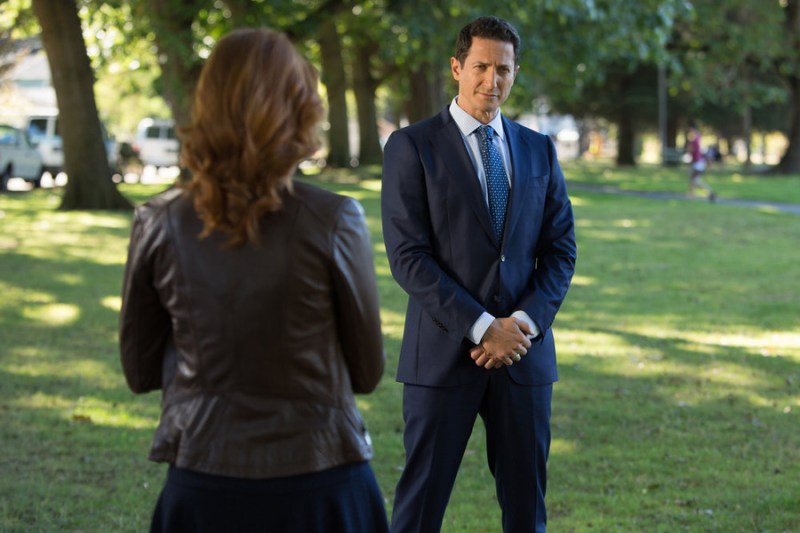 "GRIMM -- ""Wesen Nacht"" Episode 506 -- Pictured: Sasha Roiz as Captain Renard -- (Photo by: Scott Green/NBC)"